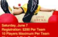 Dodgeball Tournament June 7